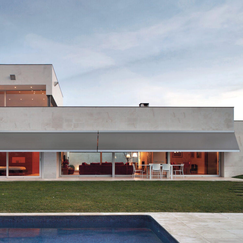 Modern residence.